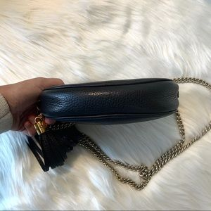 Gucci Bags - Authentic Gucci Mini Soho Disco Chain Bag Black
